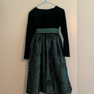 Emerald Green Dress by Plum Pudding Size 7